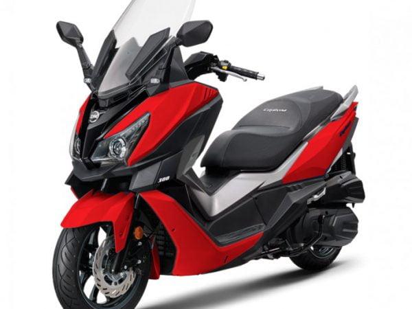 Cruisym 300 Rojo Valencia