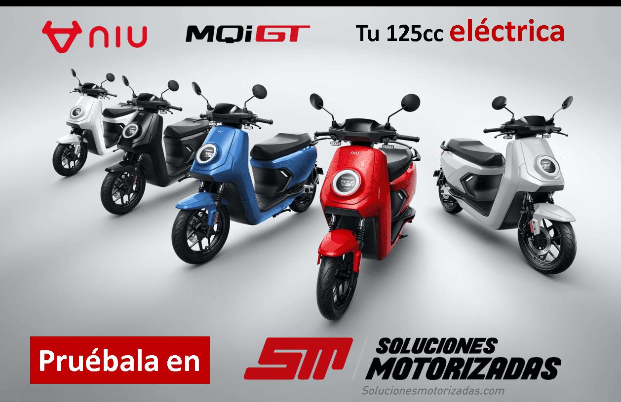 Niu MQi GT Valencia