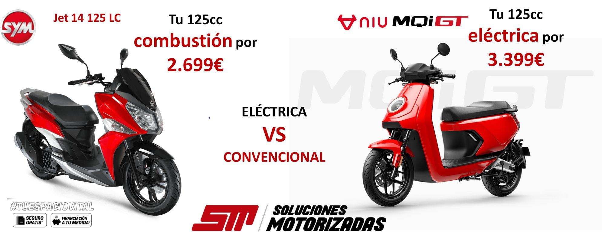 comprar moto eléctrica